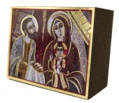 Immagine di 'Quadro Presentazione al tempio Padre Rupnik stampa 5,5x7,5 cm - (Guadalajara)'