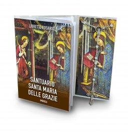 Copertina di 'Libretto con Rosario Santuario di Santa Maria delle Grazie - italiano'