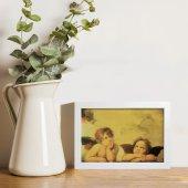 """Immagine di 'Quadretto """"Angeli"""" con cornice minimal - dimensioni 10x15 cm'"""