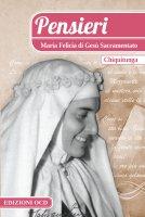 Pensieri. - Maria Felicia di Gesù Sacramentato