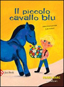 Copertina di 'Il piccolo cavallo blu'