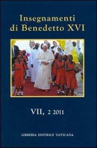 Copertina di 'Insegnamenti di Benedetto XVI (2011) vol.7.2'