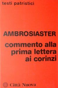 Copertina di 'Commento alla 1ª Lettera ai corinzi'