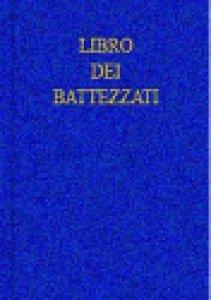 Copertina di 'Libro dei battezzati'