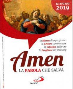 Copertina di 'Amen. La Parola che salva. Giugno 2019'