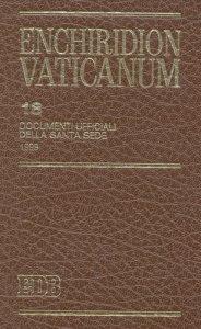 Copertina di 'Enchiridion Vaticanum. 18'