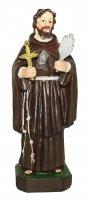 Statua di San Ciro da 12 cm in confezione regalo con segnalibro