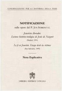 Copertina di 'Notificazione sulle opere del P.Jon Sobrino S.I.'