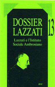Copertina di 'Lazzati e l'Istituto Sociale Ambrosiano'