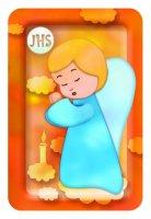 Magnete Prima Comunione con angelo