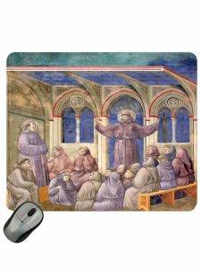 "Copertina di 'Mousepad ""San Francesco appare al Capitolo di Arles""'"