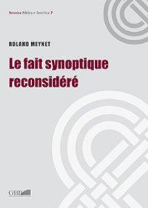 Copertina di 'Fait synoptique reconsidéré. (Le)'