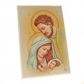 """Quadretto in legno """"Sacra Famiglia"""" - dimensioni 15x10 cm"""