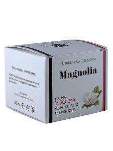 Copertina di 'Crema viso 24h con estratto di magnolia (50 ml)'
