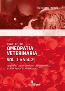 Copertina di 'Trattato di omeopatia veterinaria. Repertorio clinico con cenni di farmacologia. Materia medica'