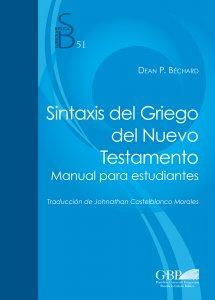 Copertina di 'Sintaxis del Griego del Nuevo Testamento'