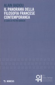 Copertina di 'Il panorama della filosofia francese contemporanea'