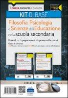 CC 4/24 4/25 filosofia, psicologia e scienze dell'educazione nella scuola secondaria. Manuali... Classe di concorso: A18, A036. Kit di base. Con espansione online