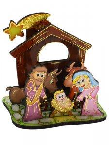 Copertina di 'Presepe componibile per la Novena di Natale'