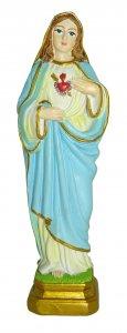 Copertina di 'Statua del Sacro Cuore di Maria da 12 cm in confezione regalo con segnalibro'