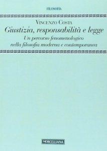 Copertina di 'Giustizia, responsabilità e legge'