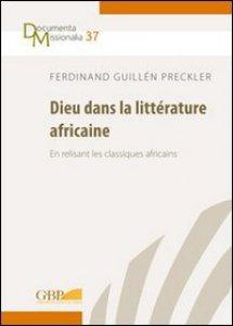 Copertina di 'Dieu dans la littérature africaine'