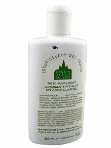 Copertina di 'Freschezza verde - detergente all'aloe per corpo e capelli 250 ml.'