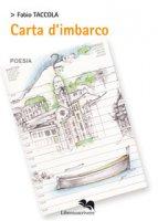 Carta d'imbarco - Taccola Fabio
