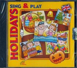 Copertina di 'Sing & Play Holidays'