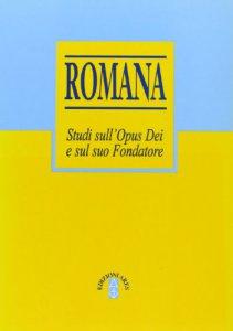 Copertina di 'Romana. Studi sull'Opus Dei e sul suo fondatore'