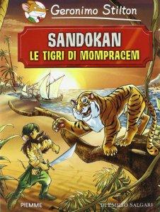 Copertina di 'Sandokan. Le tigri di Mompracem di Emilio Salgari'