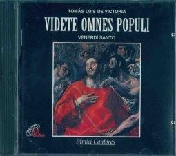 Copertina di 'Videte omnes populi'