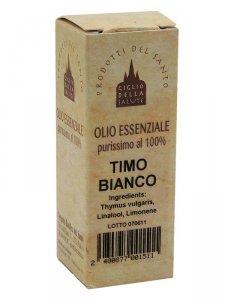 Copertina di 'Olio essenziale timo bianco   12 ml.'