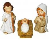 Immagine di 'Presepe per Bambini: Set statuine Natività in resina con 11 personaggi fino a 7 cm d'altezza'