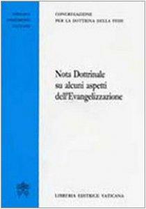 """Copertina di '""""Nota Dottrinale su alcuni aspetti dell'Evangelizzazione""""'"""