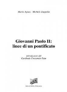 Copertina di 'Giovanni Paolo II: linee di un Pontificato (2 volumi)'