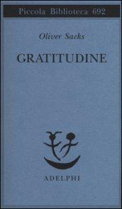 Copertina di 'Gratitudine'