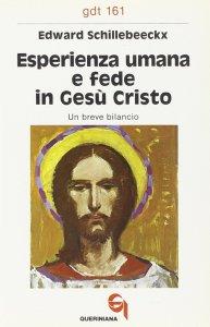 Copertina di 'Esperienza umana e fede in Gesù Cristo. Un breve bilancio (gdt 161)'