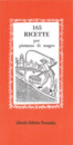 Copertina di 'Centosessantacinque ricette per pietanze di magro'