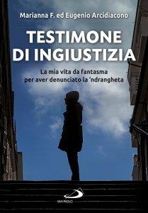 Copertina di 'Testimone di ingiustizia'