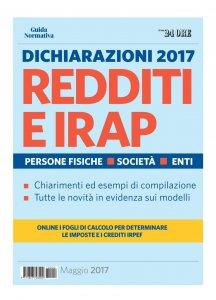 Copertina di 'Dichiarazioni 2017 Redditi e IRAP'