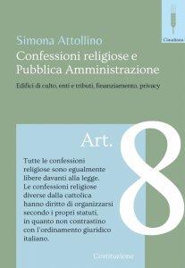 Copertina di 'Confessioni religiose e Pubblica Amministrazione'