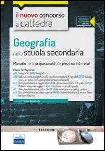 Copertina di 'CC4/21 geografia nella scuola secondaria. Per le classi A021 (A039), A22 (043), A12 (A050), A11 (A051), A13 (A052). Con espansione online'
