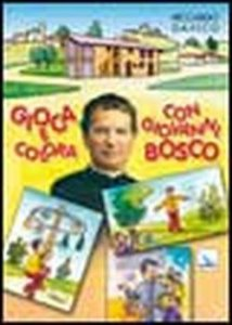 Copertina di 'Gioca e colora con Giovanni Bosco'