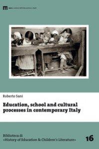 Copertina di 'Education, school and cultural processes in contemporary Italy'