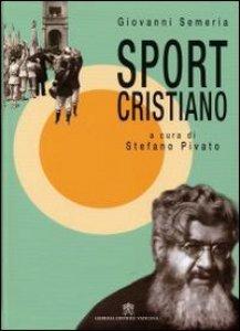 Copertina di 'Sport cristiano'