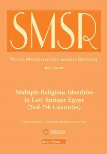 Copertina di 'SMSR. Studi e materiali di storia delle religioni'