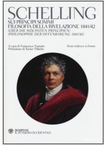 Copertina di 'Sui principi sommi-Filosofia della rivelazione 1841-42'