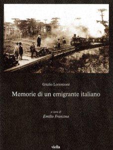 Copertina di 'Memorie di un emigrante italiano'