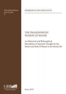 Copertina di 'The praiseworthy passion of shame'